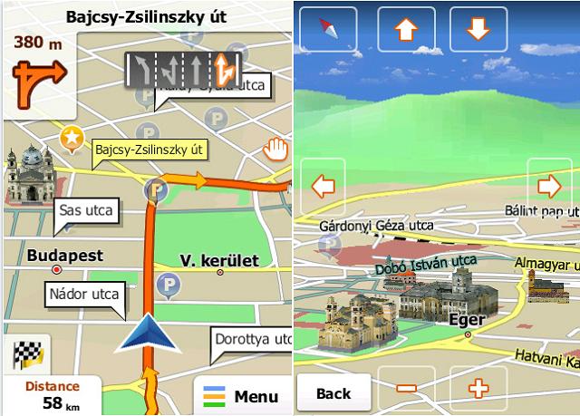 навигация для планшета андроид