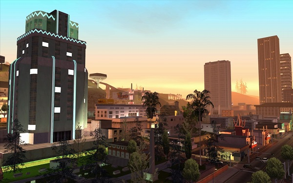 Панорама GTA