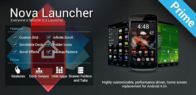 launcher для android планшетов