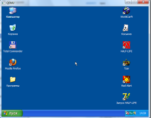 windows xp na android