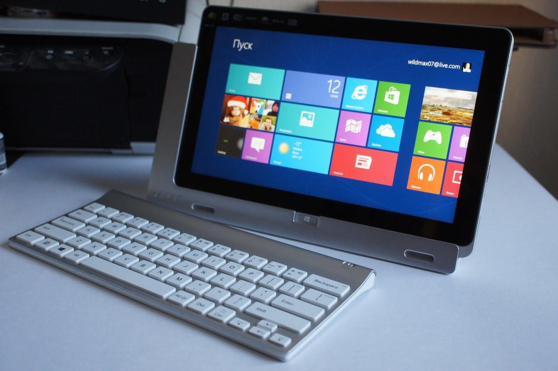 Acer Iconia - планшет на Виндовс 8