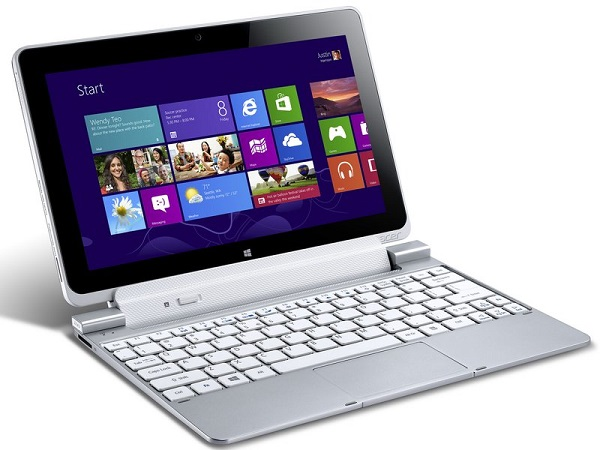 Acer iconia tab w510 - тиичный представитель процессора intel Atom